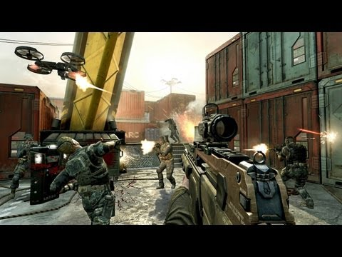 """NEW """"BLACK OPS 2"""" Multiplayer Gameplay - CARGO (Call of Duty BO2 Gameplay Online)"""