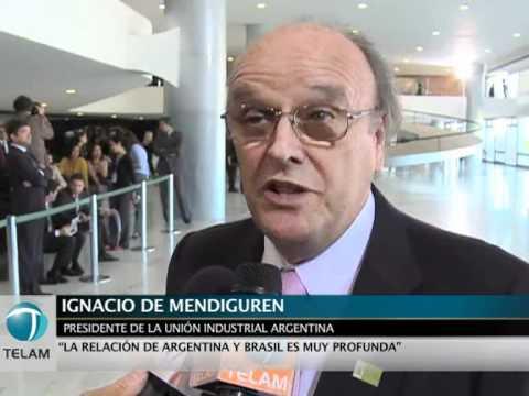 Mendiguren: Esperemos que el sector privado pueda aportar a estrechar relaciones con Brasil