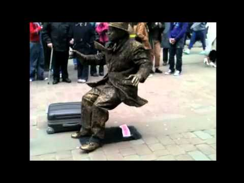 Most amazing human statue ever!
