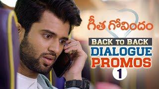 Geetha Govindam Back to Back Dialogue Promos 1