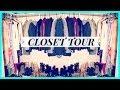 My Walk-in Closet Tour (Organization Tips) | FashionbyAlly