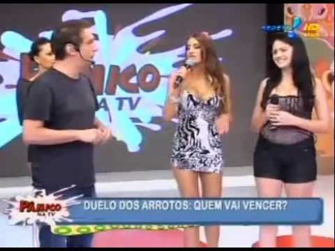 Pânico na TV Menina Arroto vs Mulher Arroto 12 12 2010