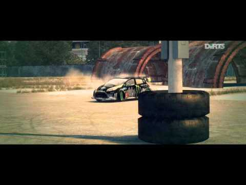 DiRT3-JOYRIDE-DC COMPOUND-2-GYMKHANA HUGE DRIFT