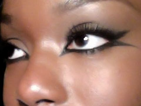Eye Makeup Tutorial: Double Flick Smokey Cat eye