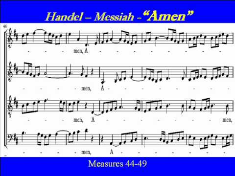 Handel-Messiah-Amen-Alto Score.wmv