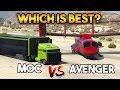 GTA 5 ONLINE : AVENGER VS MOC ( WHICH IS THE BEST OPERATION CENTER FOR MONEY ? )