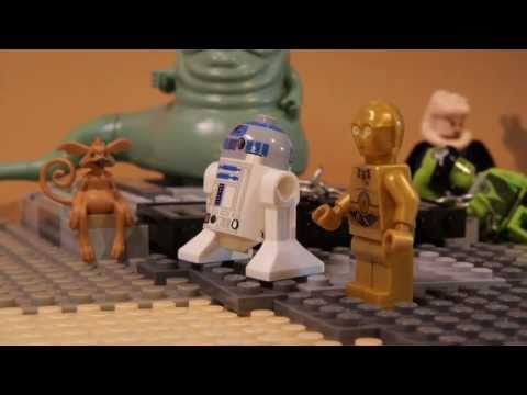 LEGO Star Wars Stop Motion Animation Jabba's Palace