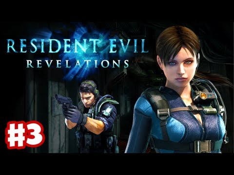 Resident Evil Revelations - Gameplay Walkthrough Part 3 - Guest Cabin (3DS, PS3, XBox 360)