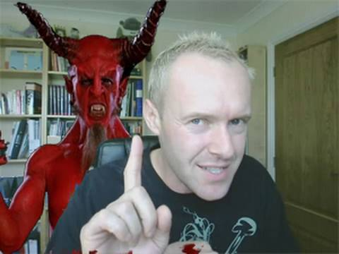 Christians, I am the Devils Advocate: Literally!