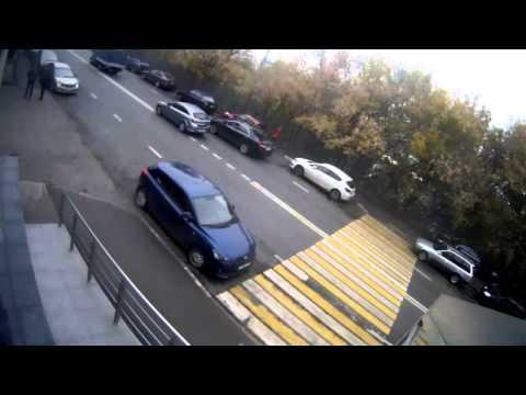 Авария в Москве 25 09 2014