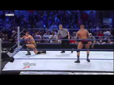 Randy Orton RKO's The Miz (2)