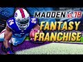 FANTASY DRAFT! NEW BILLS TEAM | Madden NFL 18 Fantasy Draft Franchise Ep.1
