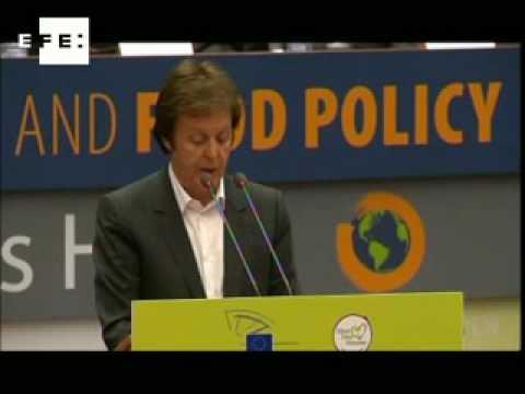"""""""Menos carne=menos calor"""", la fórmula de Paul McCartney contra el cambio climático"""