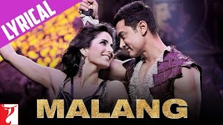 Dhoom:3 - Malang - Full Song with Lyrics