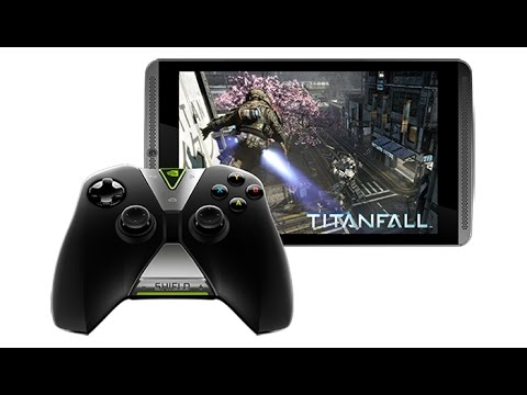 NVIDIA Shield Gaming Tablet Trailer ($299)