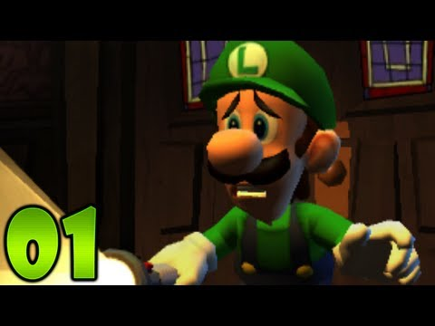 Luigi's Mansion: Dark Moon - Part 1 - Gloomy Manor: A-1 Poltergust 5000