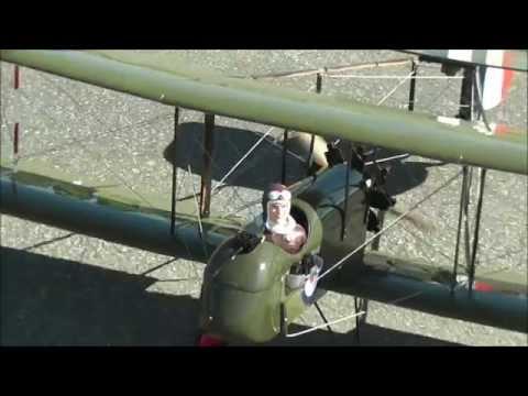 Maxford USA 1/6 Scale Airco DH.2 RC Model ARF Plane - UC1MwhG_QkIvGopSQRdeAasg