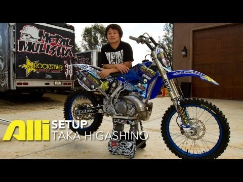 Taka Higashino Bike Check - Alli FMX Setup