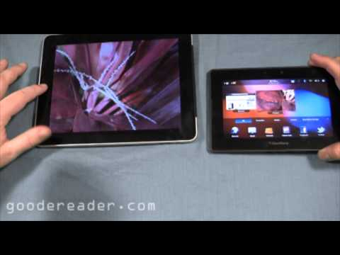 Apple iPad vs the Blackberry Playbook Comparison