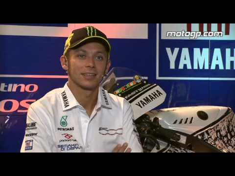 Rossi On His Yamaha Years