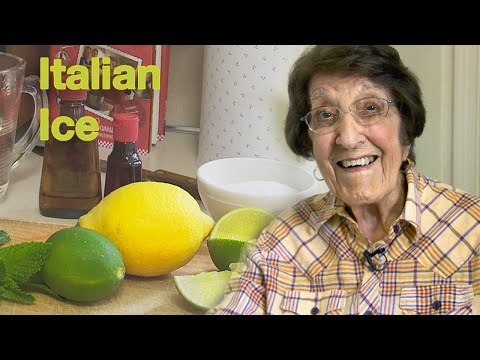 Great Depression Cooking - Italian Ice