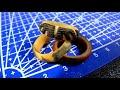 Фрагмент с начала видео Как сделать деревянное кольцо / светящееся во тьме