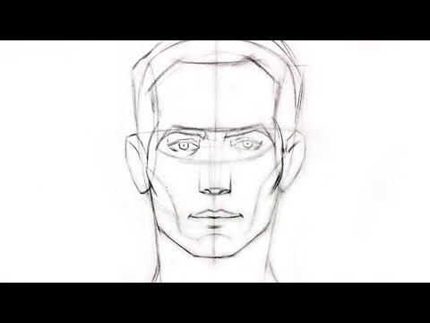 How to Draw the Head from Any Angle Part 2 - Front View