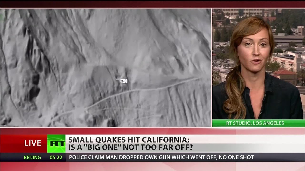 (California) rattled by small quakes – people fear the 'big one'