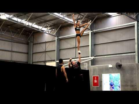 Derrick and Nicole - Level 6 Partner Stunt - Oct 2011