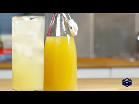 Orange Ginger Shrub || Glen & Friends Cooking