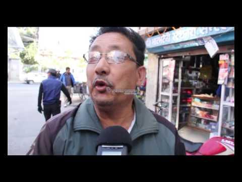 काठमाडौंमा चुनाव प्रचार गर्दै नेताहरु