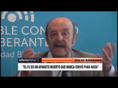 <b>Conferencia en Paraná.</b> Julio Bárbaro dijo que el PJ está muerto