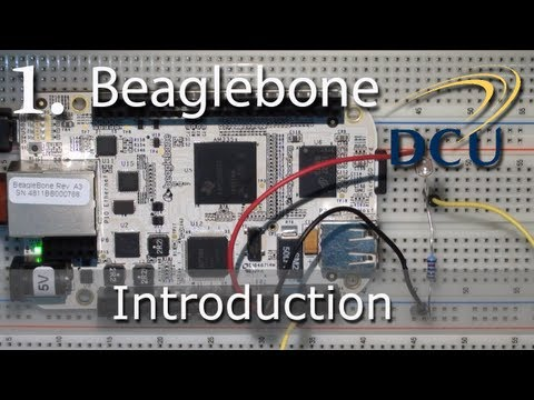 The Beaglebone - Unboxing, Introduction Tutorial and First Example
