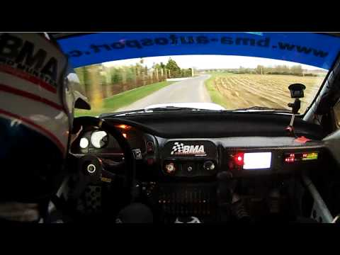 Crazy Onboard with Patrick Snijers in a Subaru Impreza 555 HD 720p Pure Sound