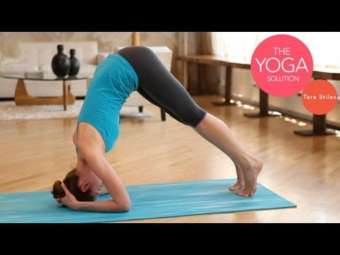 Inversions Simplified | Intermediate Yoga With Tara Stiles