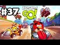 Angry Birds Go! Gameplay Walkthrough Part 37 - Fully Upgraded Beep Beep! Rocky Road (iOS, Android)