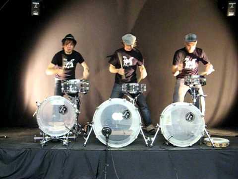 Playmobeat Drumtrio: Standup Drumedy
