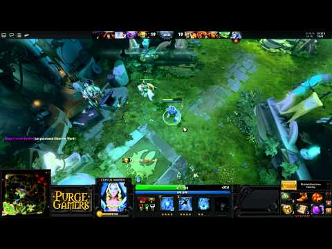 Dota 2: Purge plays Crystal Maiden