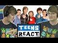 TheOdd1sOut реагирует на Teens React на TheOdd1sOut 'а (реакция) |  на русском | озвучка | перевод