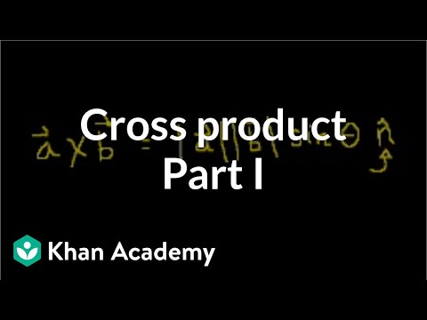 Cross product 1