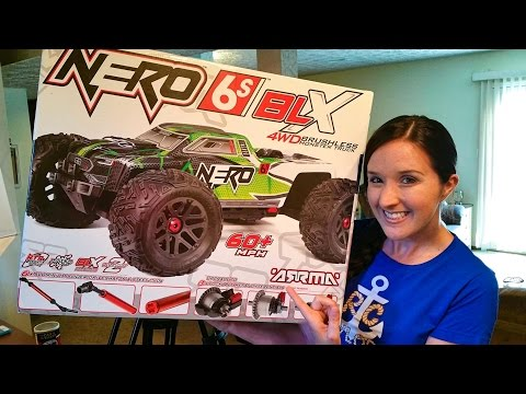 ARRMA Nero 6S Brushless BLX 4WD 1/8 RC Monster Truck RTR Unboxing - TheRcSaylors - UCYWhRC3xtD_acDIZdr53huA