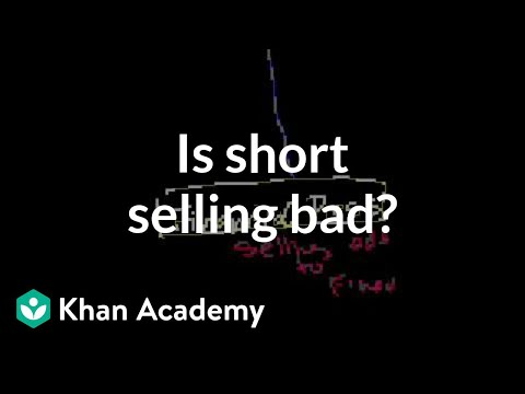 Is short selling bad?