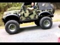 Suzuki Samurai Rock Crawler Drive-Up