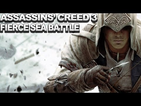 Assassin's Creed III Gameplay - Fierce Sea Battle