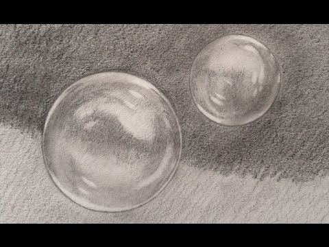 How to Draw Soap Bubbles