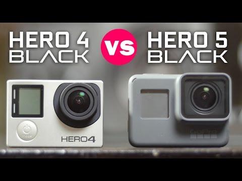 GoPro Hero 5 Black vs Hero 4 Black