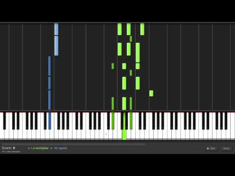 How to Play How to Save a Life by The Fray on Piano -zCRMnQignss