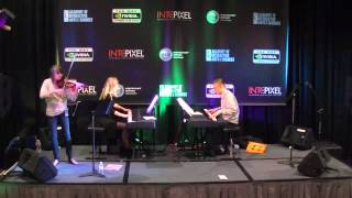 Final Fantasy VII - One Winged Angel *LIVE* with ViolinTay and lara6683 at E3 2012
