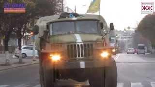 Житомир со слезами на глазах встретил десантников 95-й бригады