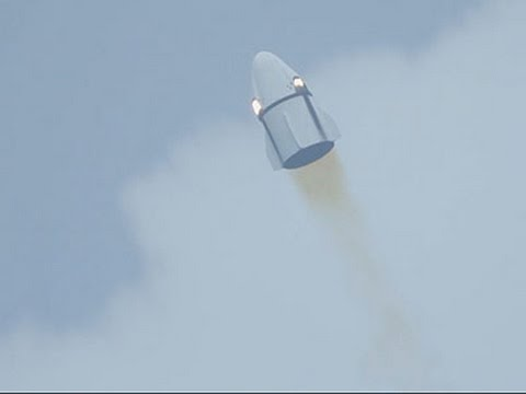 SpaceX Launches Mock Capsule for Abort Test